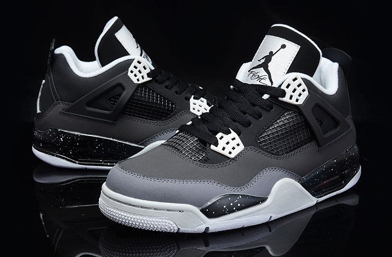Nike Air Jordan IV 4 Retro Mens Shoes Oregon Ducks Black Gray New  R21k2622