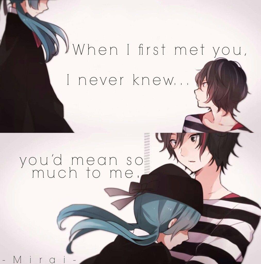 Vocaloid · Manga QuotesSad Anime