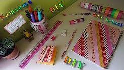 2 Samsoma Diy Youtube سلسلة العودة الى المدرسة أفكار سهلة وسريعة لتزين أدوات المدرسة Diy Back To School تجهيزات للمدرسة Diy School مشترياتي للمدرس Diy