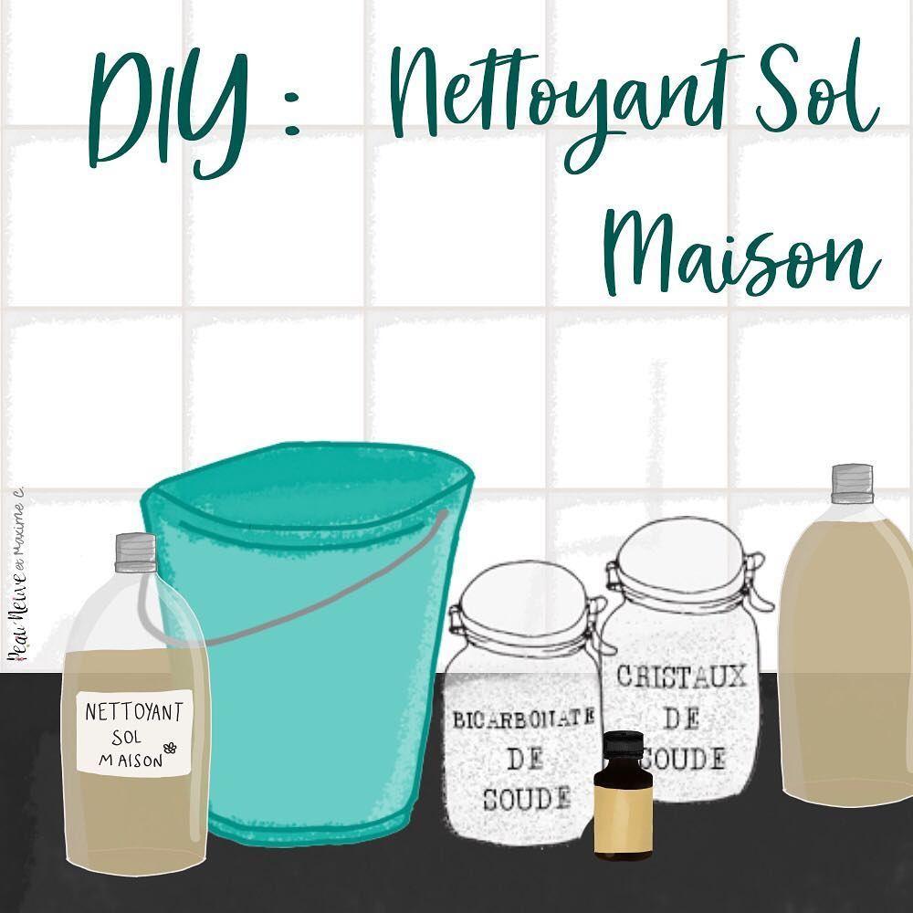 ÉNAGE AU NATUREL 🌷Comment laver le sol avec des produits sains