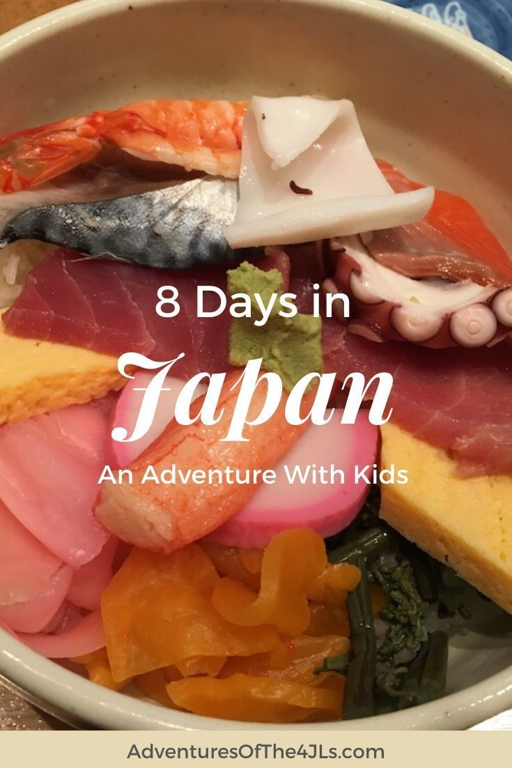 Japan is an amazing country, filled with delicious food and beautiful sights. As our family traveled to Japan we found it to be a delightfully family friendly country. If you have the opportunity to take your kids to Asia, definitely consider this as a starter country. #adventuresofthe4jls #travel #japan #asia #travelguides #traveltips #familytravel #traveljapan #travelasia