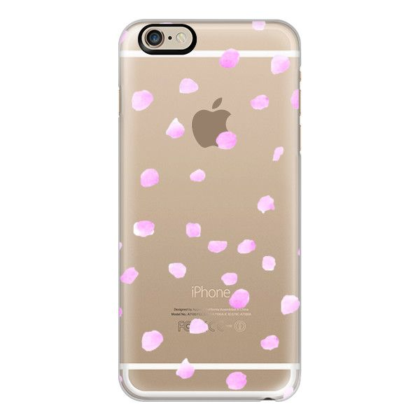 iPhone 6 Plus/6/5/5s/5c Case - PINK POLKA DOTS ($40) ❤ liked on Polyvore featuring accessories, tech accessories, iphone case, iphone cover case, polka dot iphone case, apple iphone cases y pink polka dot iphone case