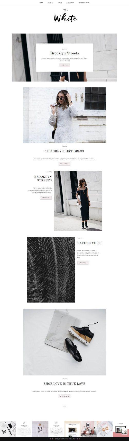 Blogger Template with Post Slider / Responsive Blog Theme ...