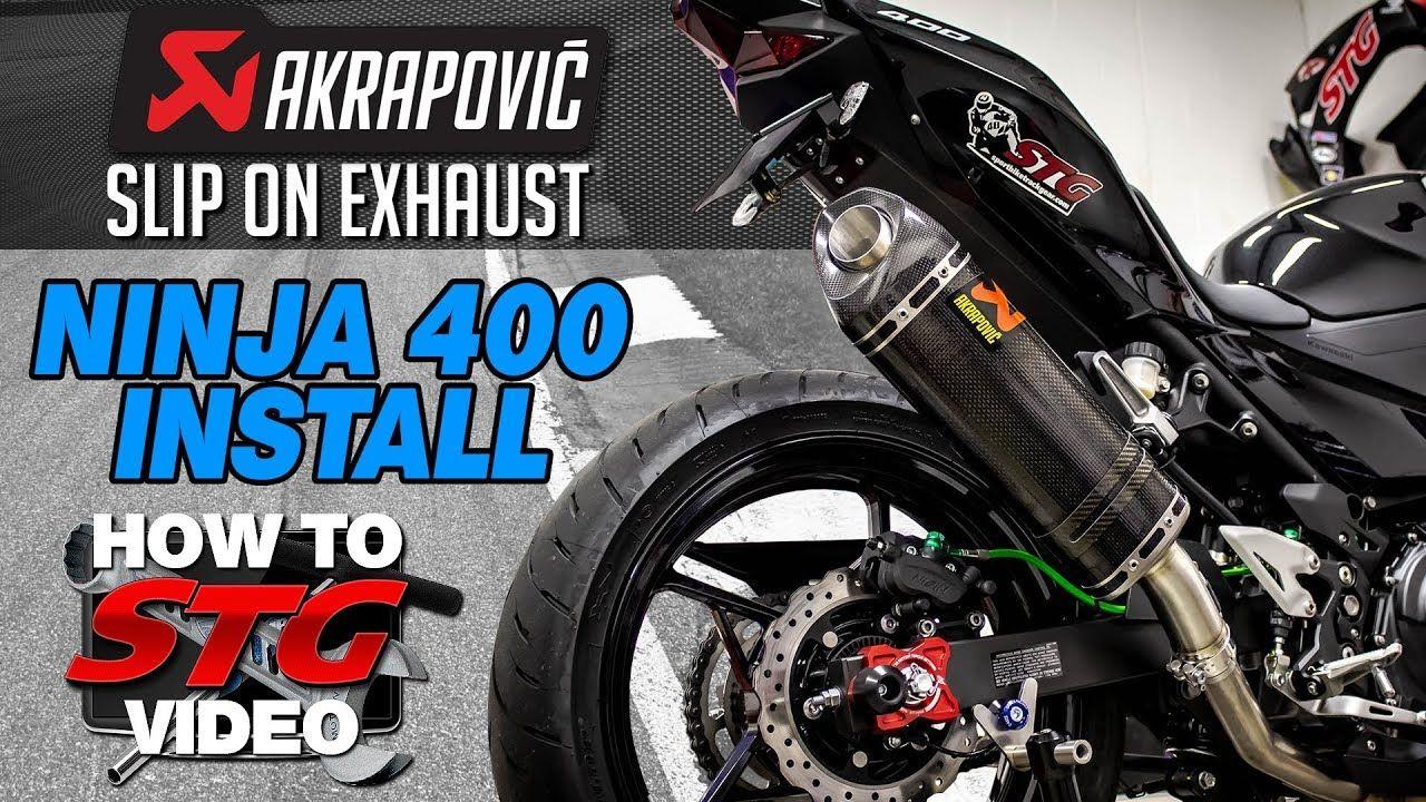 akrapovic 2018 kawasaki ninja 400 slip