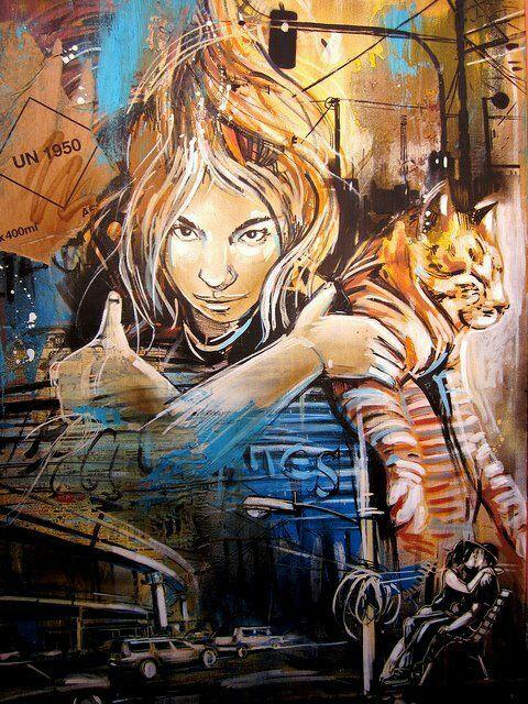 Street-wall graphic art - L'arte grafica sui muri. Street art come forma d'arte e di comunicazione visiva. Seguici su Instagram: https://www.instagram.com/diellepriv/  Raccolta by Dielle Web e Grafica #streetart #murales #mural #art #artedistrada #artedistradagraffiti #arte #graffiti #wall #wallart #wallarts #wallartstreet