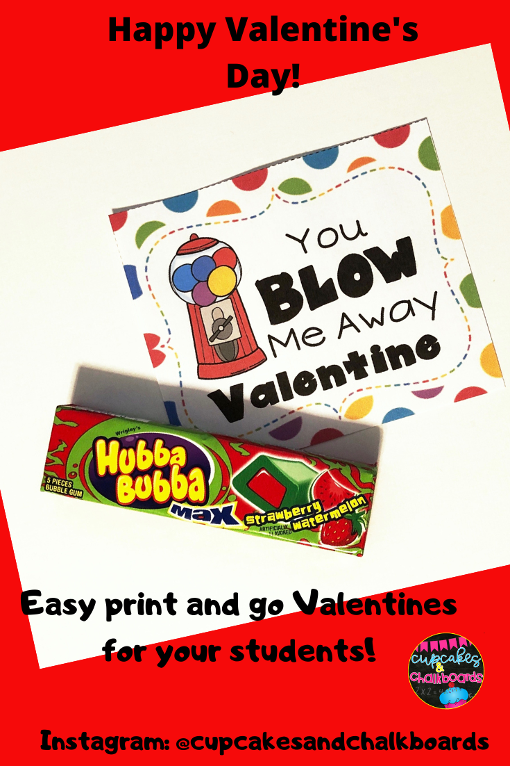 Valentine S Day Gift Tag In 2020 Valentine Print Valentines School Kid Classroom Valentines