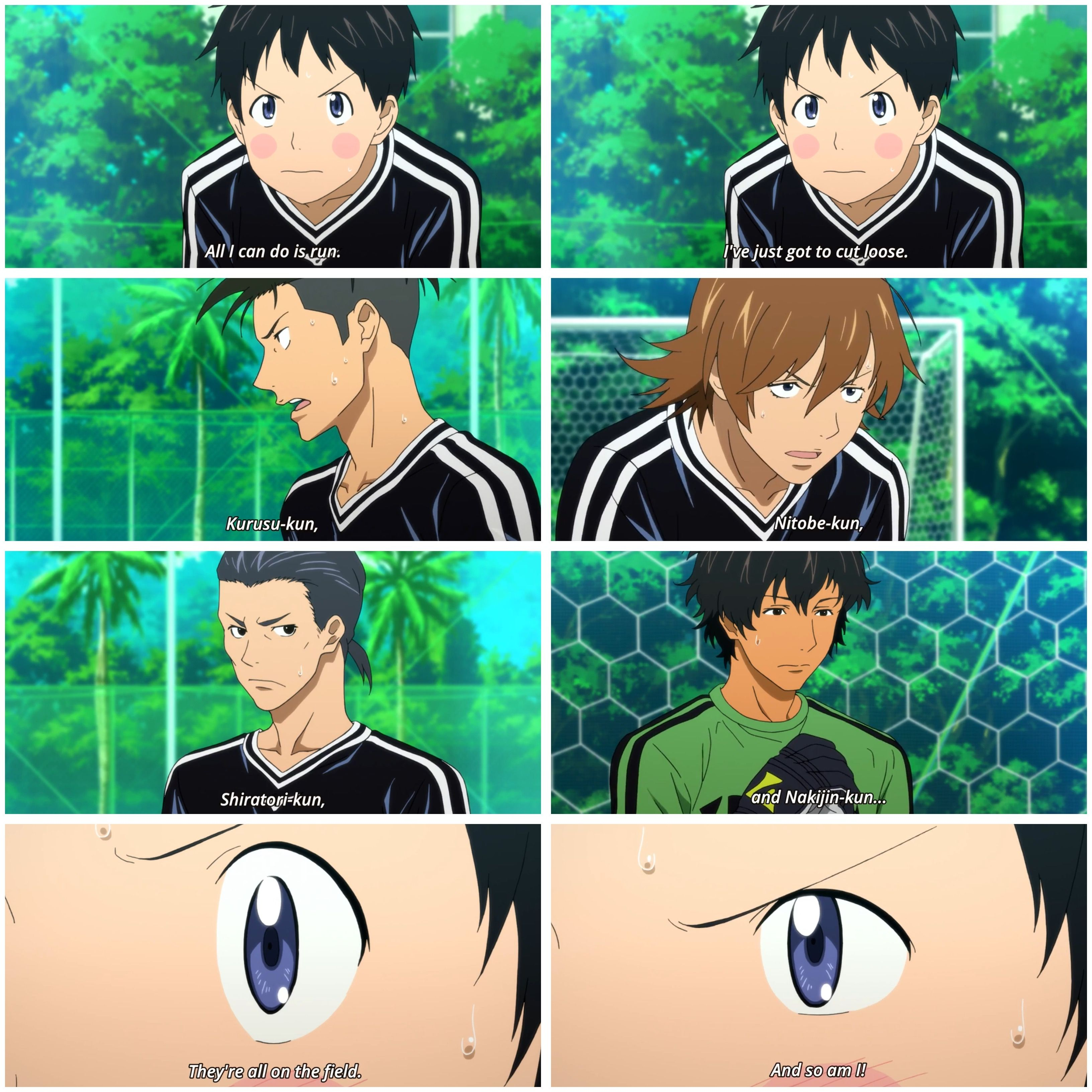 Tsukamoto Tsukushi Days (TV) soccer anime episode 14