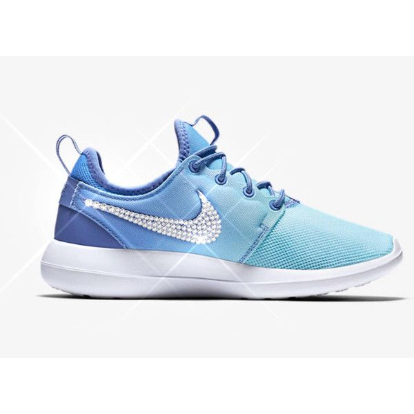 clearance nike roshe two silver blue d8904 b6c32