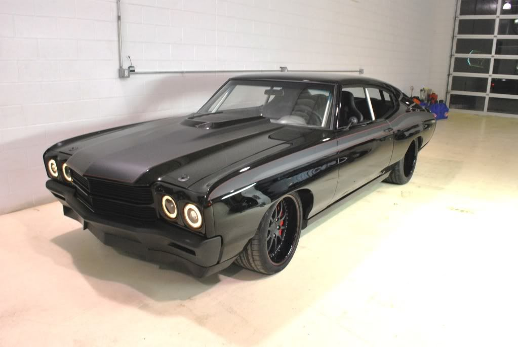 Roadster Shop S 70 Chevelle Back In Black Page 11 Chevelle 70 Chevelle Pro Touring Cars