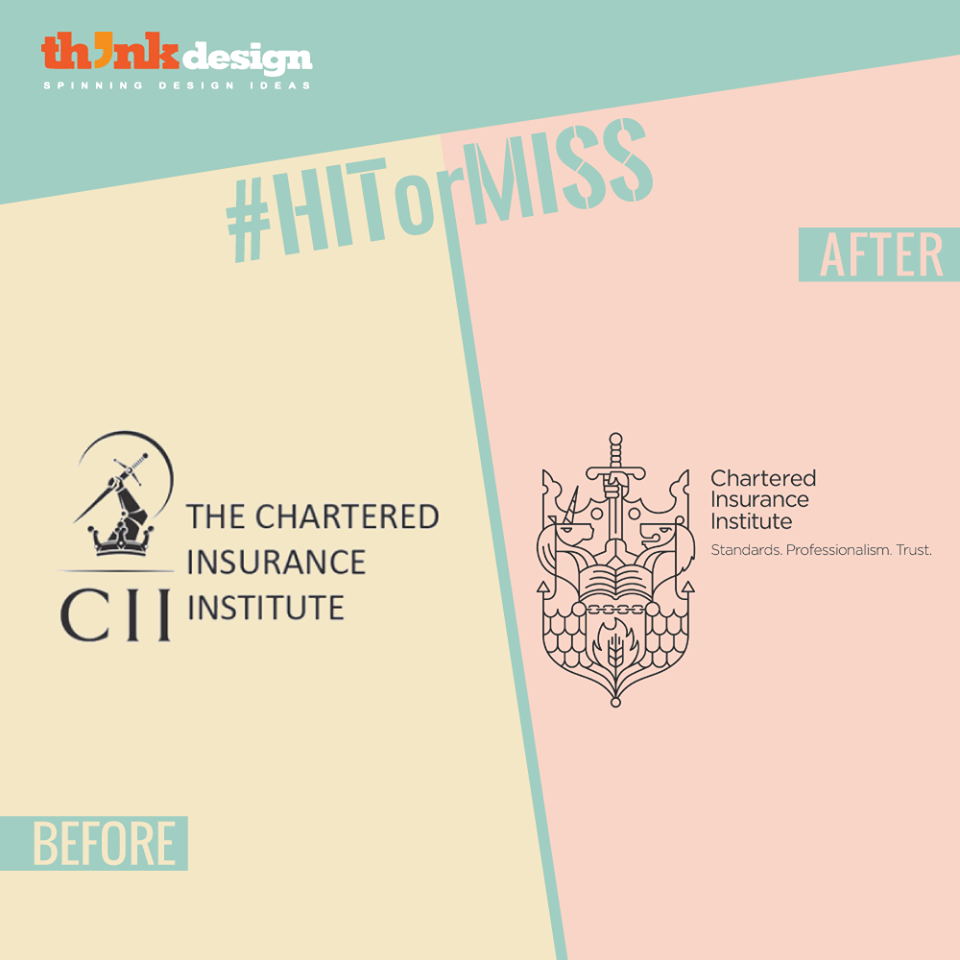 How Fond Are You Of The Line Art The Chartered Insurance Institute Is A Professional Organization For The Financial And Ins With Images My Passion Logo Redesign Passion
