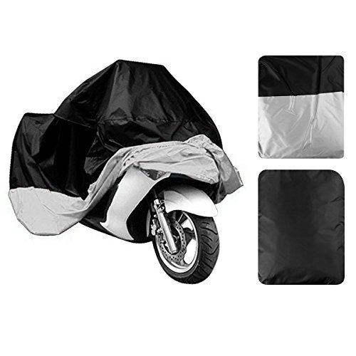 Motorcycle Cover By Leaningtech Large Waterproof Motocycle Cover Rainproof Seat Cover Motorbike Cover Heavy Du Motorcycle Cover Motorbike Cover Car Body Cover