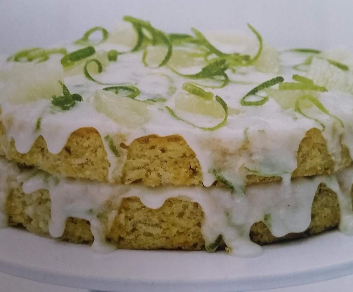 Recipe Lime and Coconut Cake by TLC - Recipe of category Baking - sweet