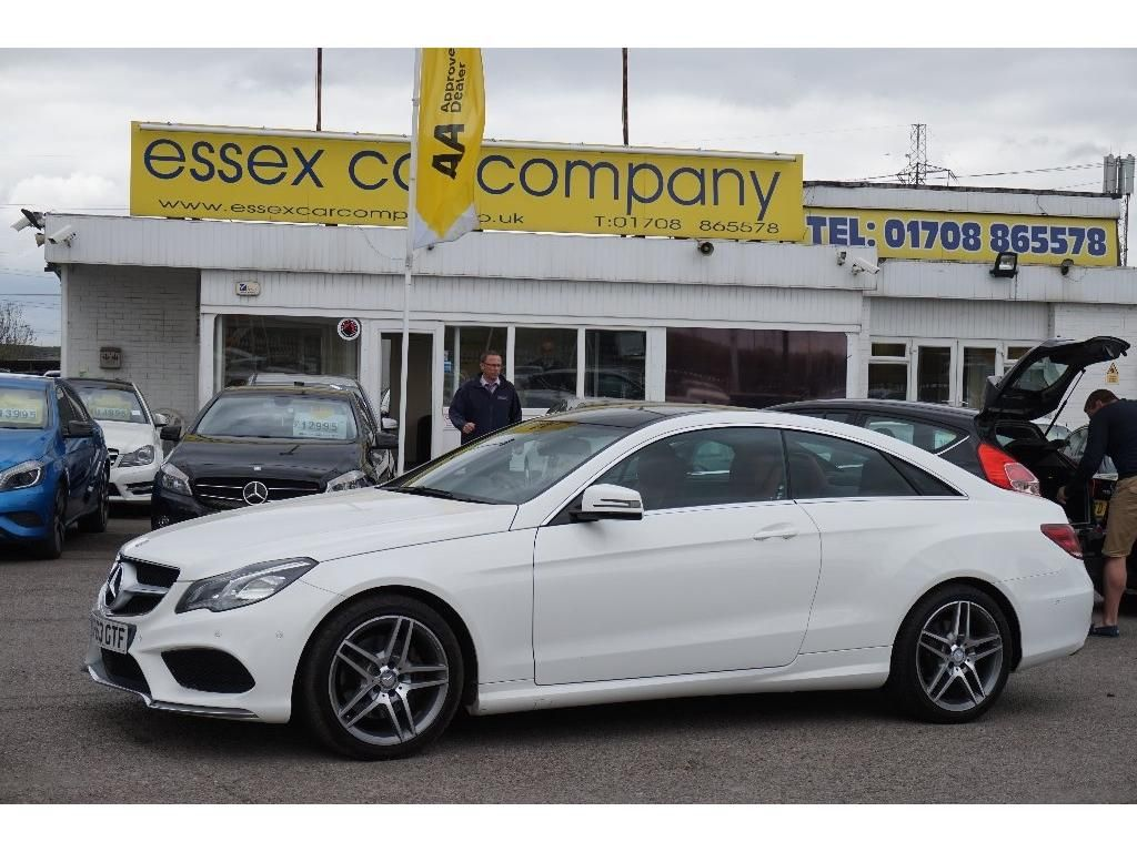 Mercedes Benz E Class Coupe 3 0 E350 Cdi Bluetec Amg Sport 7g Tronic Plus 2dr Used Mercedes Essex Car Cars For Sale