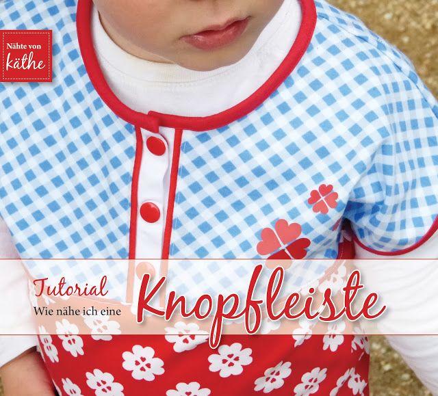 Shirt mit Unterteilung und Knopfleiste | Nähbares | Pinterest ...