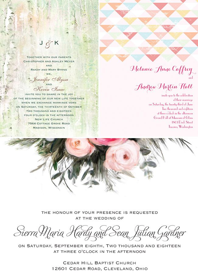 Wedding Invitations from Invitations By Dawn | Dawn, Wedding and ...