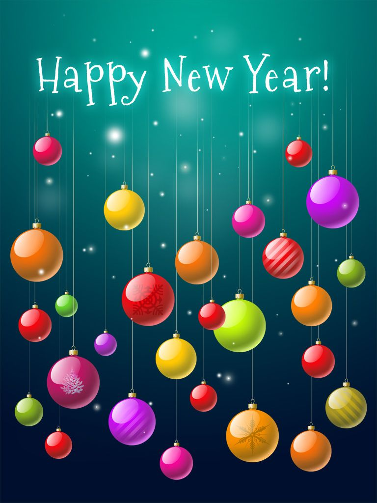Happy New Year Birthday wishes cards, Happy new years