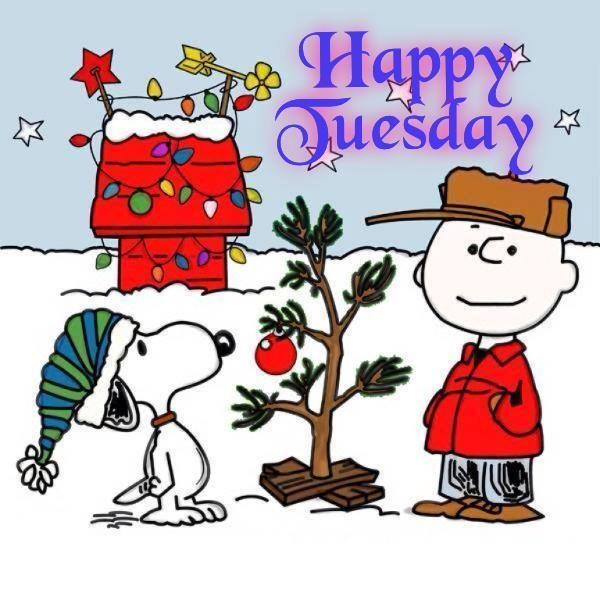 happy tuesday days months seasons pinterest happy tuesday rh pinterest com au snoopy merry christmas clipart Snoopy at Christmas