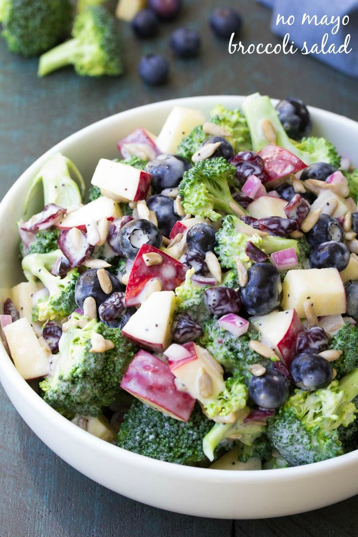 Broccoli Salad is an easy and delicious side dish thats perfect for any sum  Salads