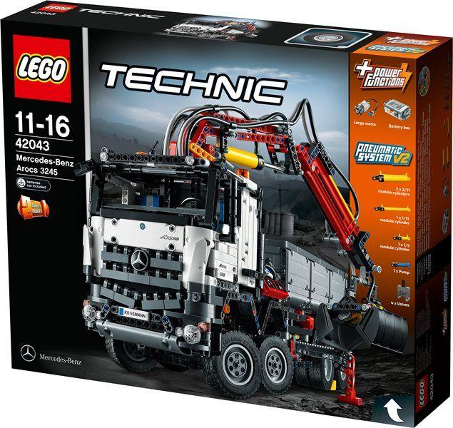 The Brick Castle: LEGO TECHNIC Mercedes-Benz Arocs 3245 set 42043 ...