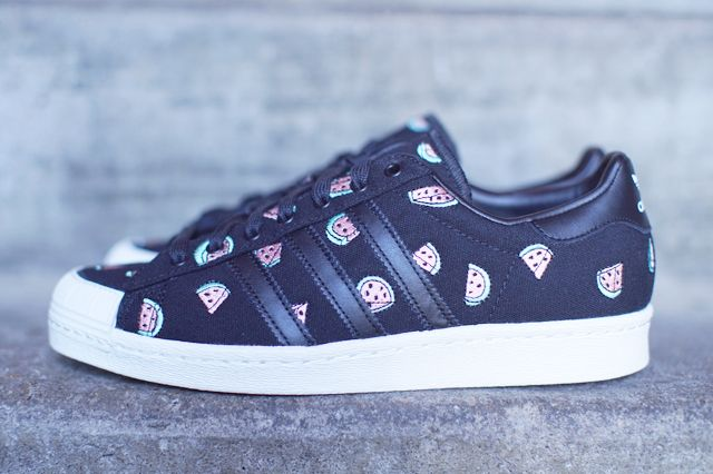 Adidas Originals Superstar Halfshell 80s Watermelon