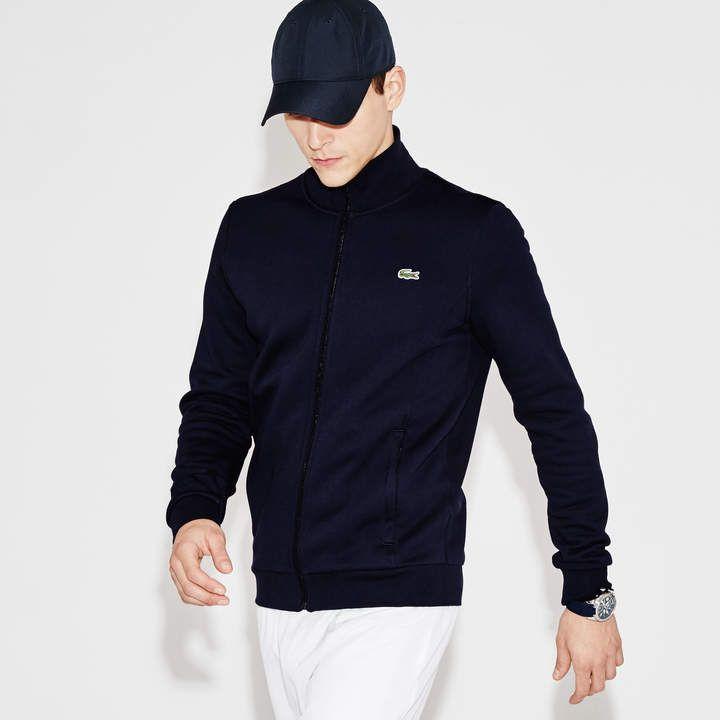 e5c1e8e1b0 Men's SPORT zip-up fleece sweatshirt in 2019 | Products | Lacoste ...