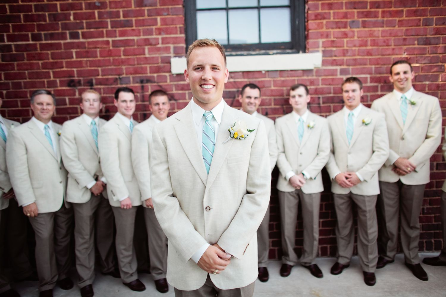 Gather your groomsmen at The Grace Museum for your wedding