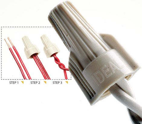 The right wire connector, used correctly, can help DIYers ... on