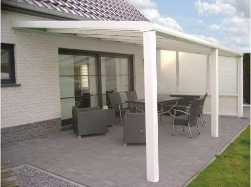 pergola aluminium namelis anthracite texture 7 x 3m | diy projects, Hause deko