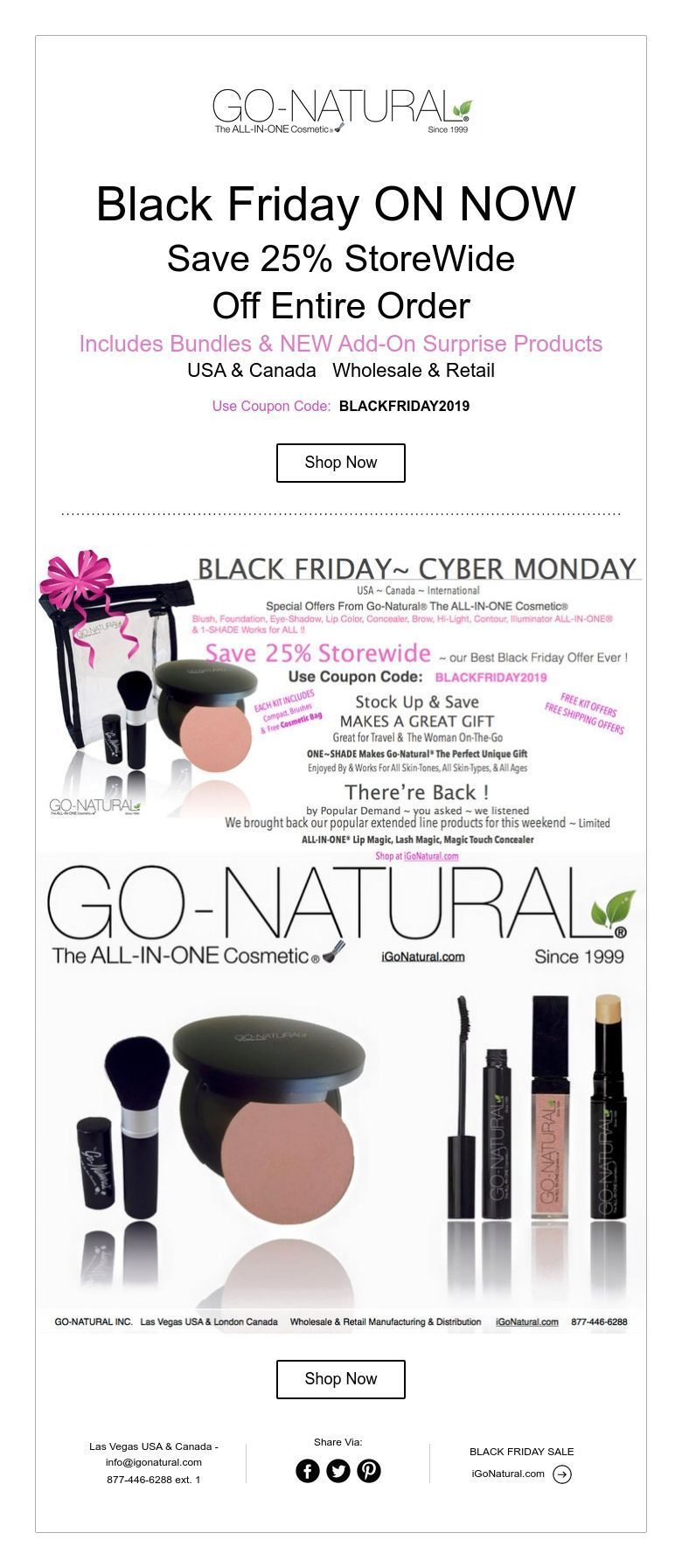Black Friday ON NOW Save 25 StoreWide Off Entire Order