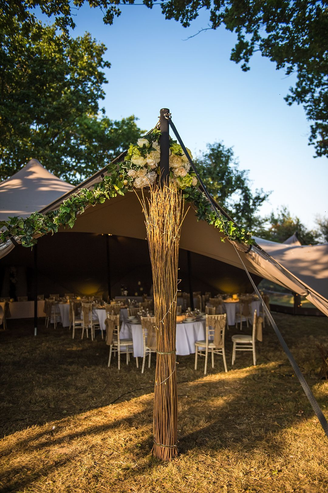 Woodland Glade Meadow And Stretch Tents Wedding Venue Kent