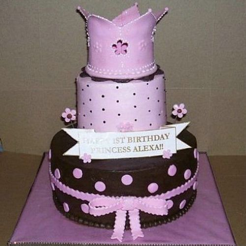 Princess Birthday Cake Ideas Girls Birthday Cakes Pinterest