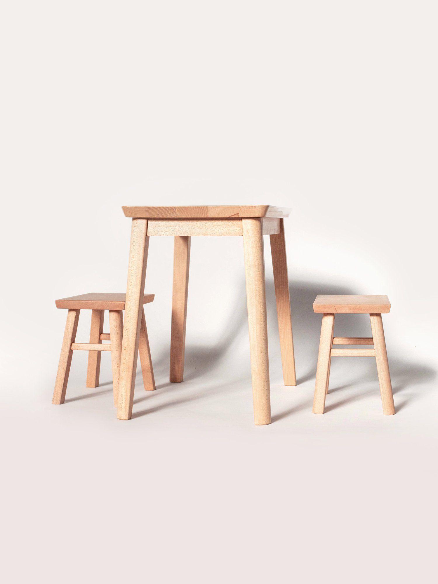 New Ko Play Table Set Modern Kids Table Kids Table And Chairs Minimalist Kids Furniture