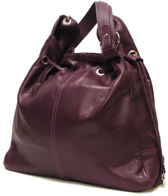 Buccina Bag In Purple By Floto Handmade Italy