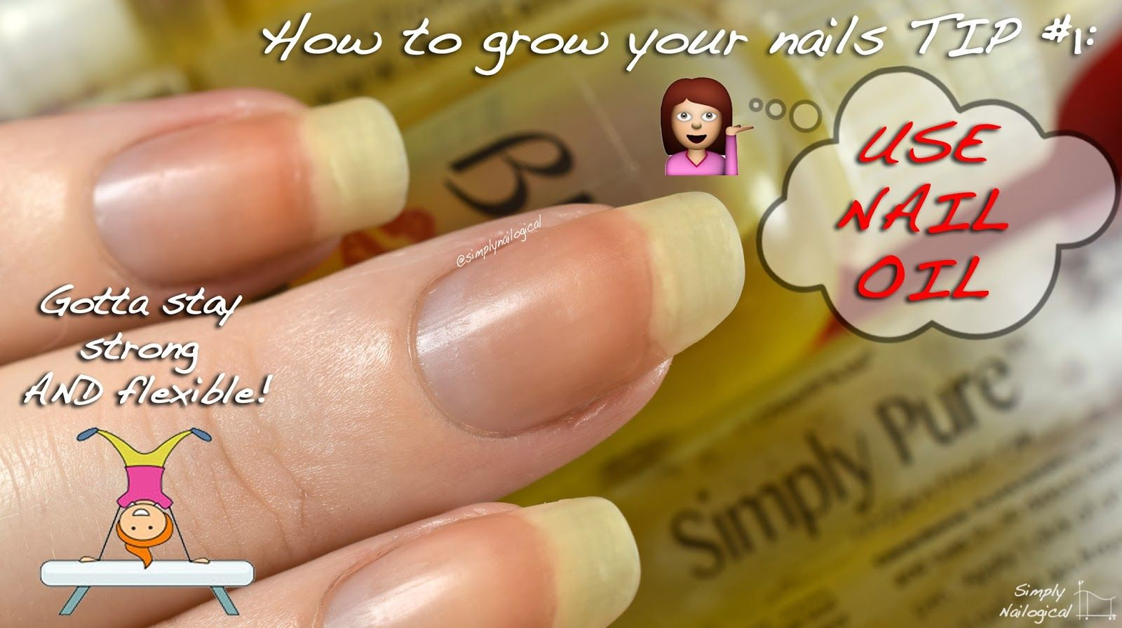 Simply Nailogical: Leaving the nub club: How to grow your nails ...
