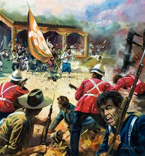 a look at the boxer uprising in china during the late nineteenth century We now speak of the end of the qing, qīng mò, when speaking of the  full- scale civil war during the mid-century taiping rebellion defeat at.