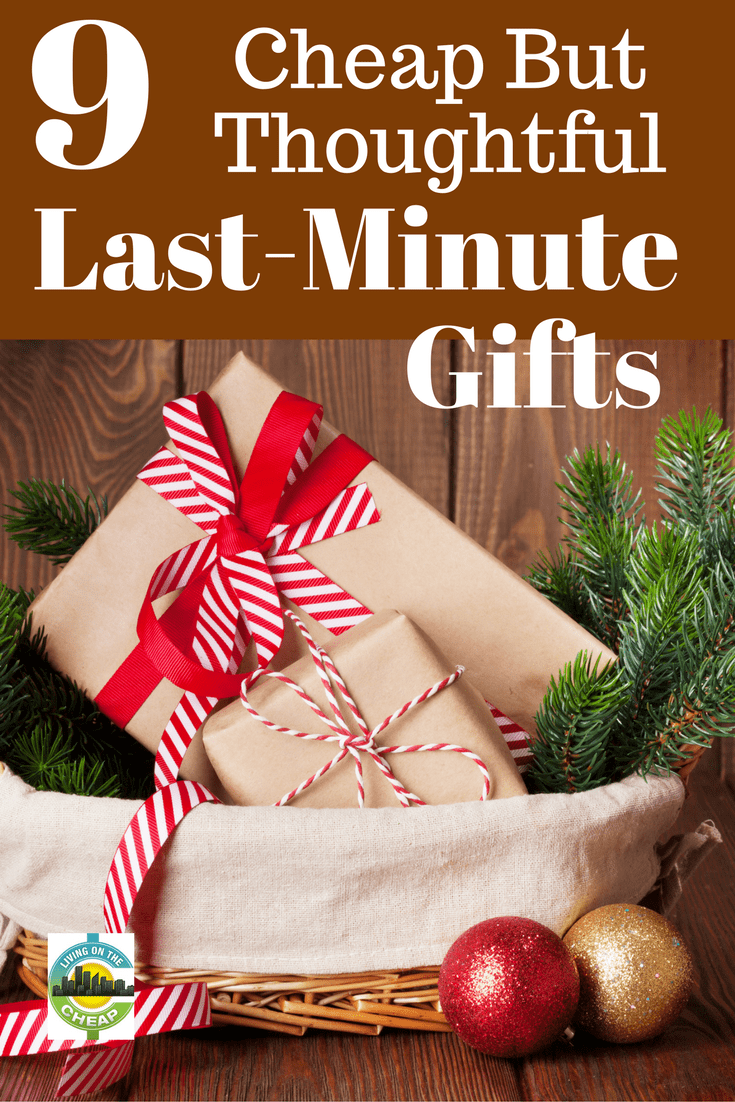 9 Cheap But Thoughtful Last Minute Gifts Cheap Christmas Gifts