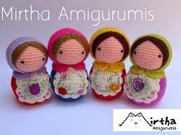 Amigurumis Muñecas : Image result for muÑecas rusas amigurumis patron amigurumi