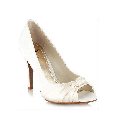 Nice For Bridesmaids J By Jasper Conran Cream Silk Cort Shoes At Debenhams