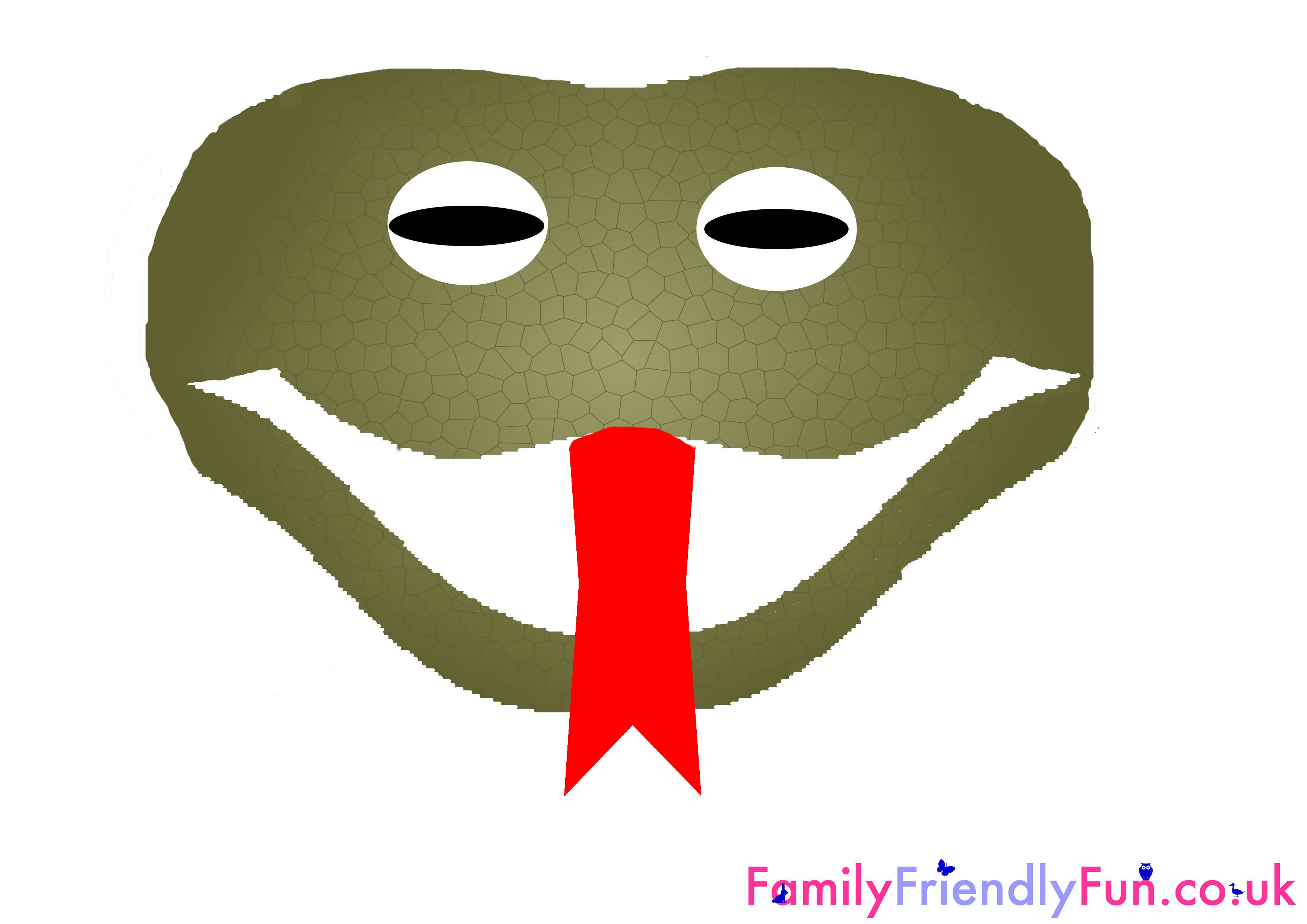 Snake Mask For Kids Chinese New Year