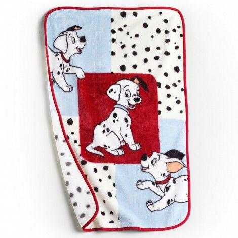 101 Dalmatians Plush Blanket Puppy Nursery Theme Baby Doll Nursery Disney Themed Nursery