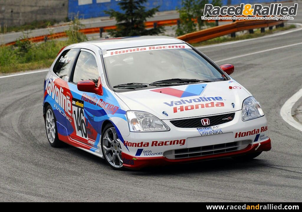 Honda Civic Type R | Race Cars for sale at Raced & Rallied | rally ...