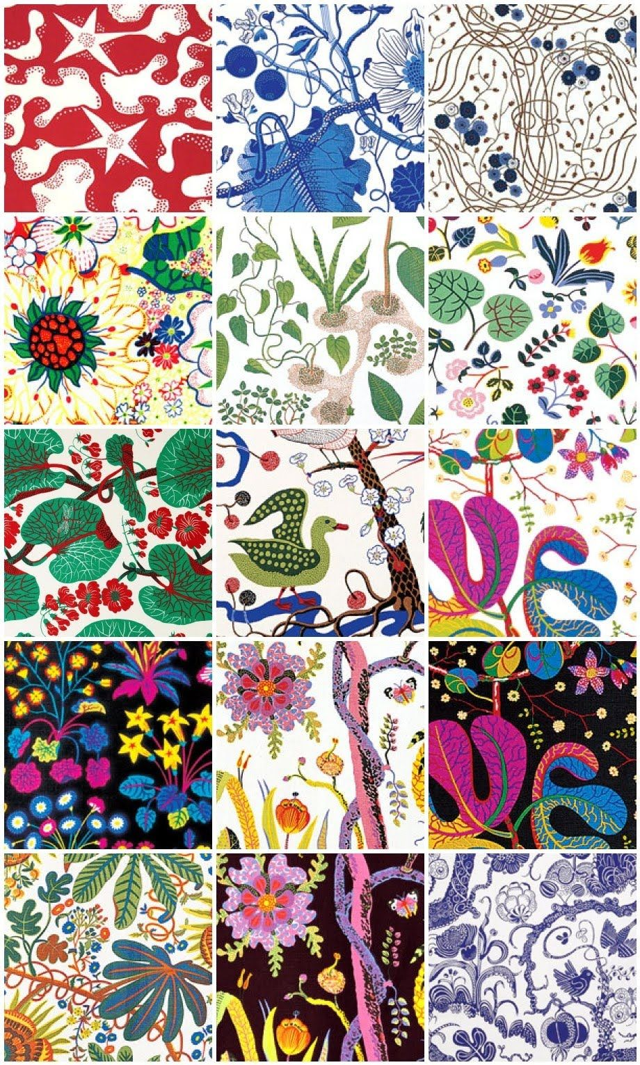 Day One Josef Frank Josef Frank Fabric Modern Scandinavian