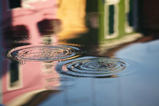 Water Photographs of Burano and Venice by Jessica Backhaus