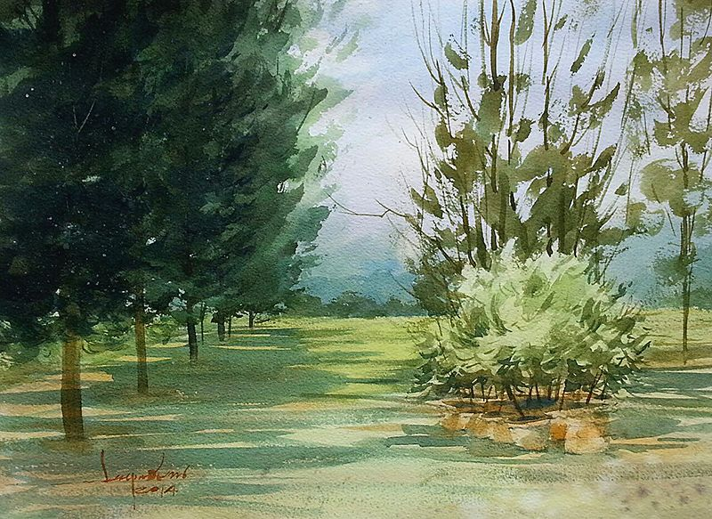 44 best SARAYUTH 'S WATERCOLOR PAINTING images on Pinterest ...