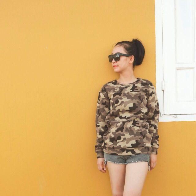 Sweatshirt với giá ₫180.000 chỉ có trên Shopee! Mua ngay: http://shopee.vn/bongraumuong/109329286 #ShopeeVN