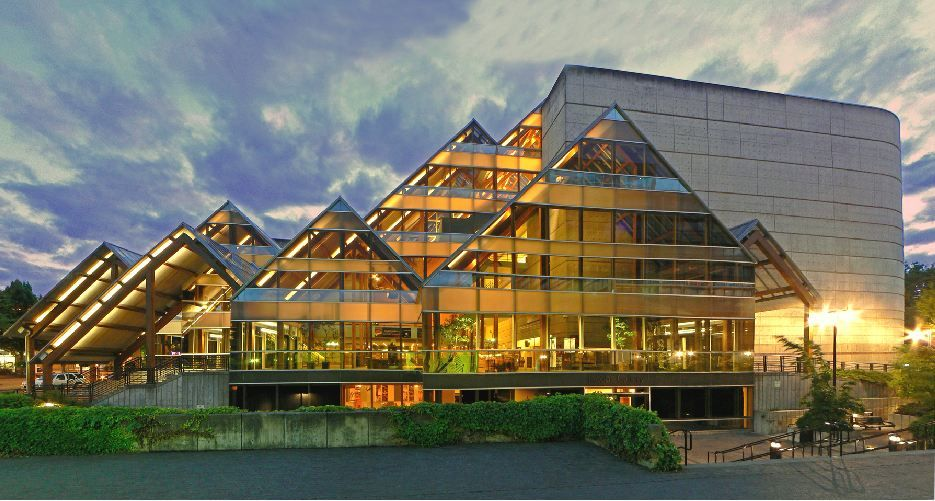 The Hult Center for the Performing Arts in Eugene, OR. You