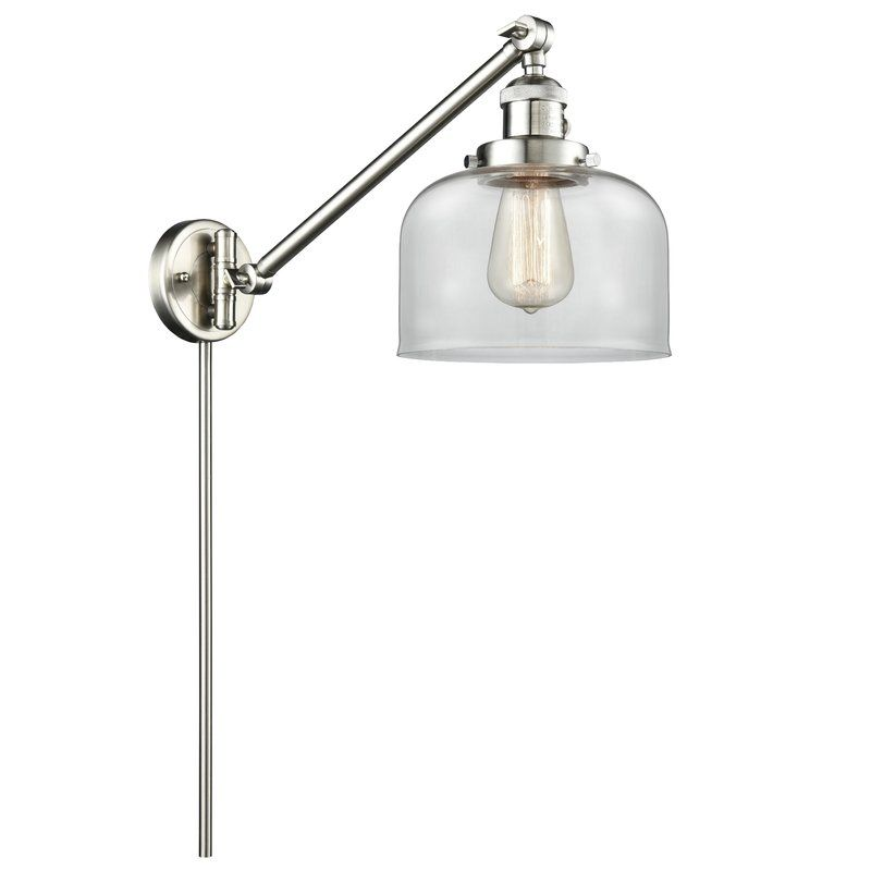 Ashcroft 1 Light Dimmable Swing Arm Innovations Lighting Vintage Led Bulbs Swing Arm Lamp