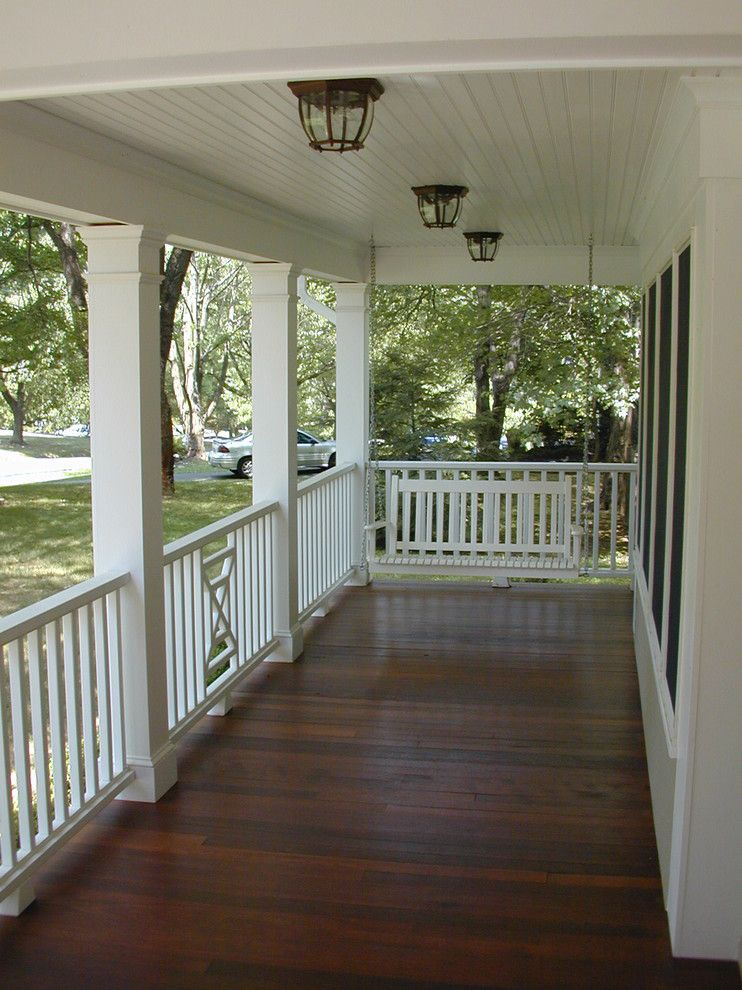Traditional Exterior Front Porch Design Pictures Remodel Decor And Ideas Soooo Pretty: Covered Porch