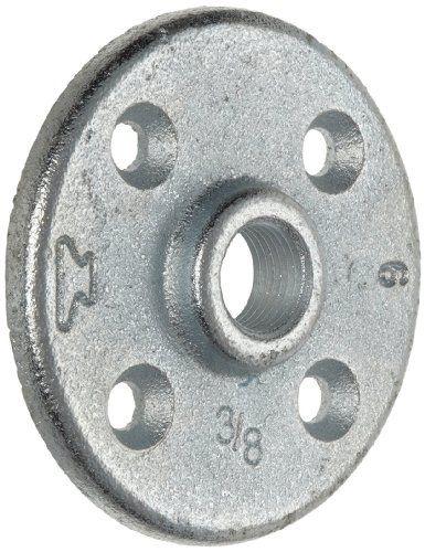 Anvil 8700164406, Malleable Iron Pipe Fitting, Floor Flange, 1-1/4 NPT Female, Galvanized Finish by Anvil International: Anvil 8700164406,…