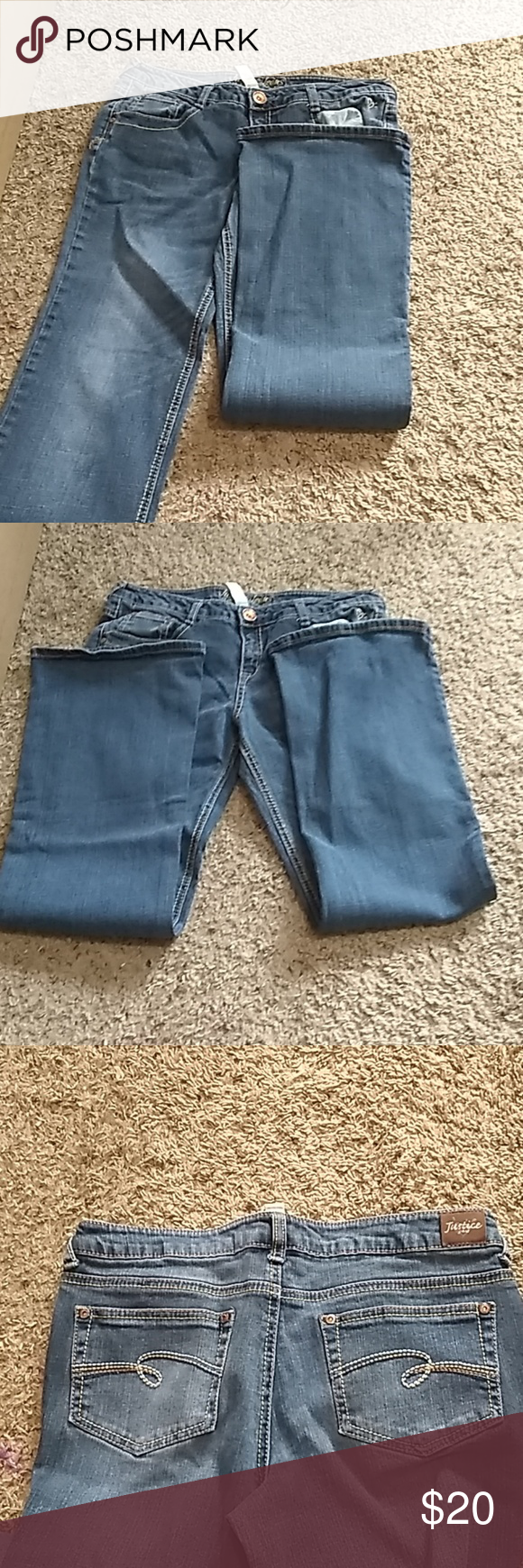Girls Justice Jeans Size 16 And A Half 064 Clothes Design Fashion Fashion Trends